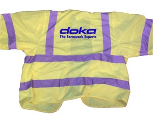 Hi Vis Embroidered Jacket